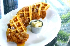 Belgian Waffle & Country-Fried Chicken