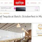 Eater - Tacos and Tequila at Batch