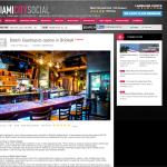 Miami City Social - Batch Gastropub Opens in Brickell