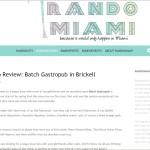 RandoMiami - Batch Gastropub in Brickell