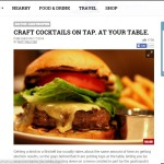 Thrilllist - Craft Cocktails on Tap. At Your Table